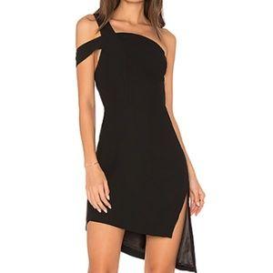 aq/aq candice dress, black, size 10